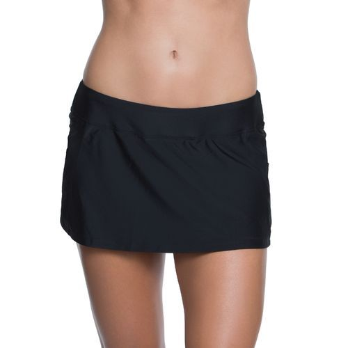 BCG Women's Malibu Solids Skirtini Swim Bottom
