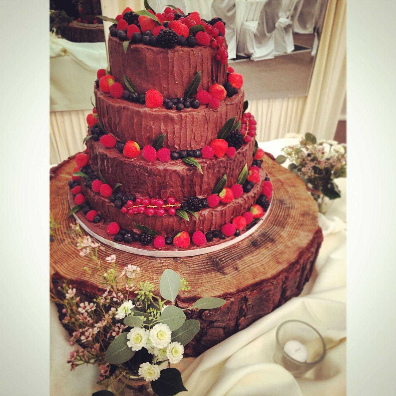 Wedding cake at Clonabreany