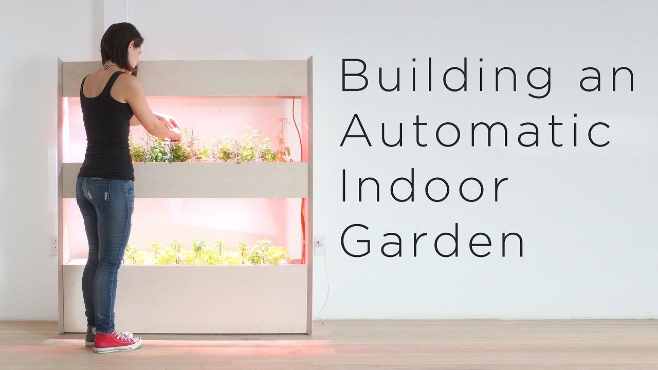 Setting Up An Automatic Indoor Garden Customizing A 400 x 300