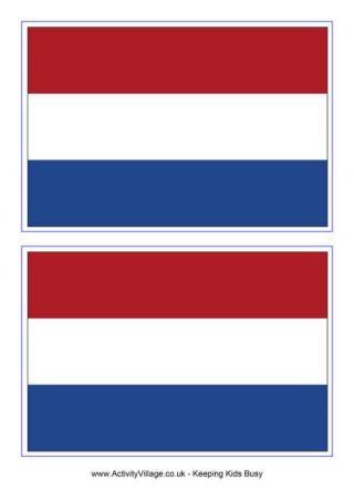 Netherlands Flag Printables Flag Printable Netherlands Flag Flag Template