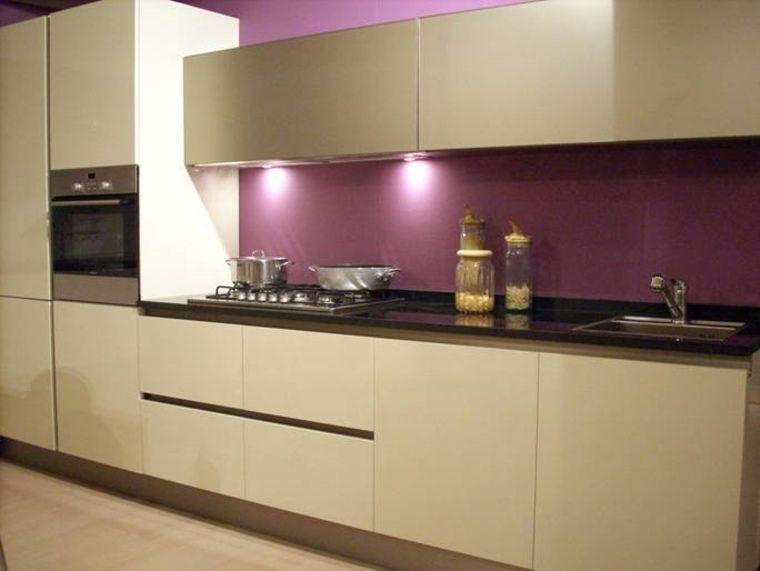 Cuisine Couleur Aubergine Inspirations Violettes En Idées - Meuble cuisine aubergine pour idees de deco de cuisine