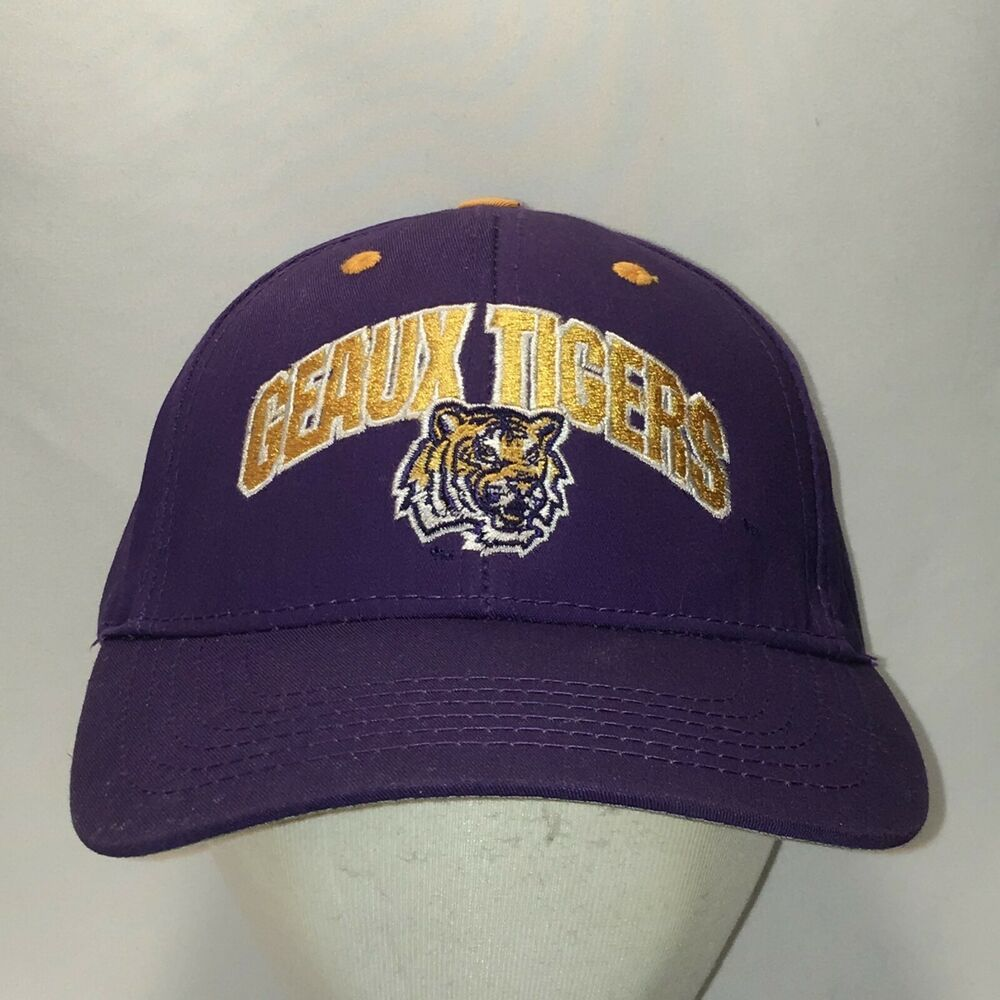 official photos 92ff4 cf1b8 LSU Geaux Tigers Baseball Cap NCAA Louisiana State University Dad Hat T45  F9057  LSU  LSUTigers  LSUBaseball  GeauxTigers  LouisianaStateUniversity  ...