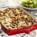 unstuffed shells casserole, also sounds yummalicious.