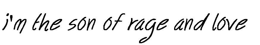 i'm the son of rage and love  soy el hijo de la ira y del amor  es una cancion de green day  cancion jesus of subirbia
