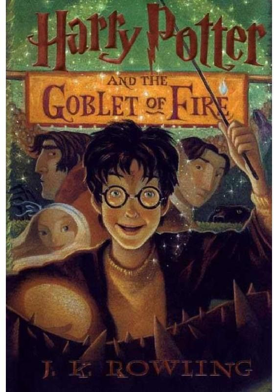 Image result for harry potter and the goblet of fire book