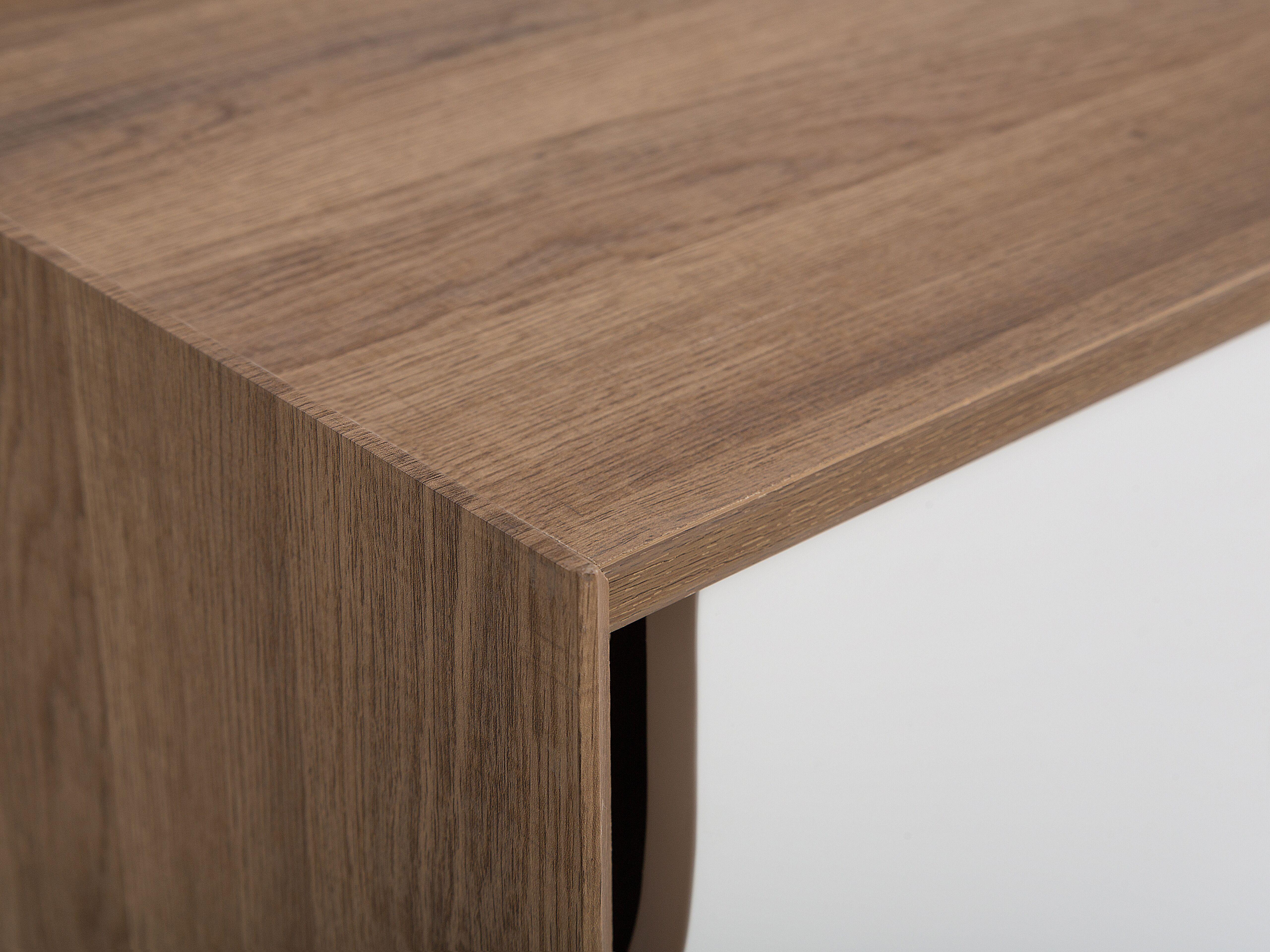 Photo of Porta TV laminato in color legno chiaro/bianco ACTON