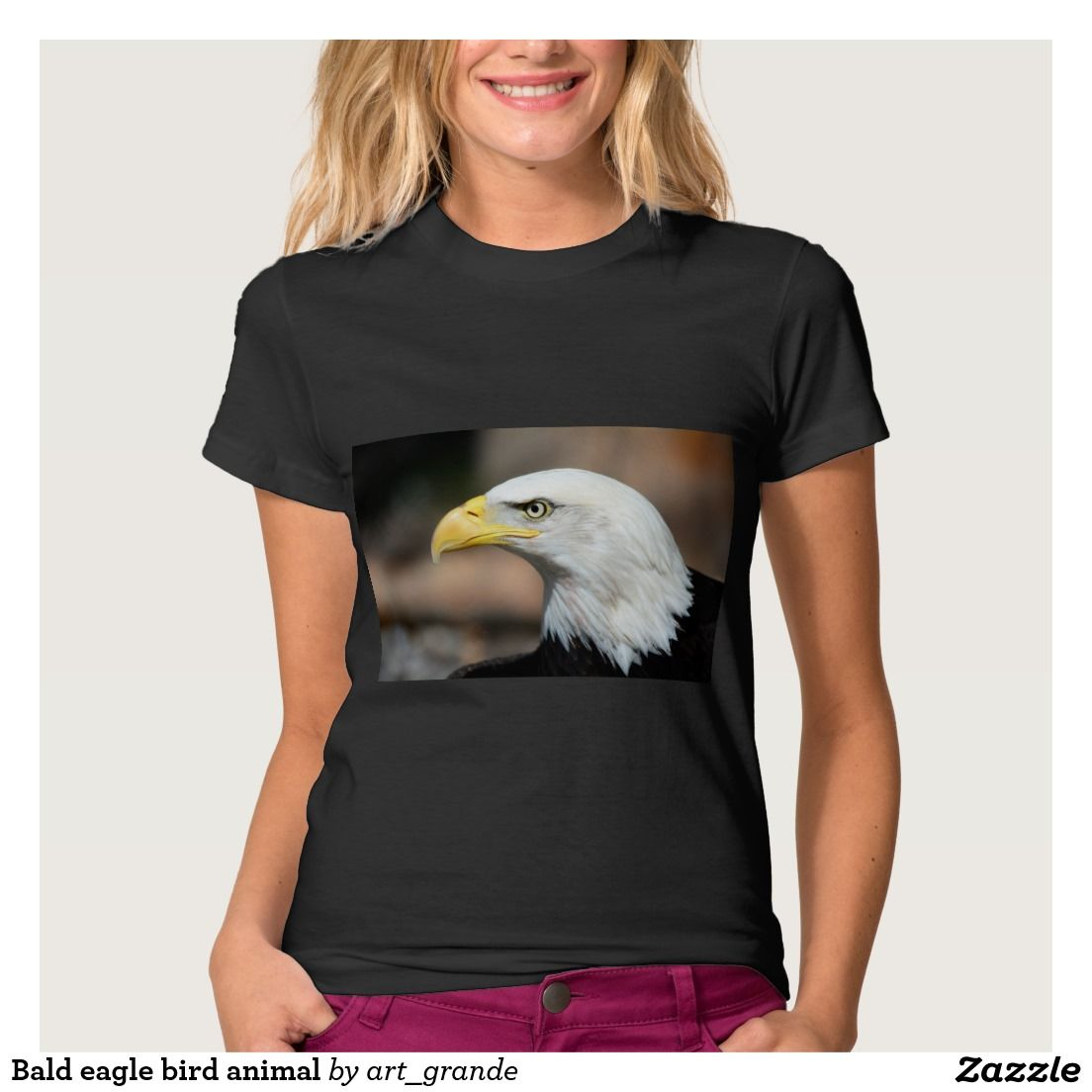 Bald eagle bird animal T-Shirt