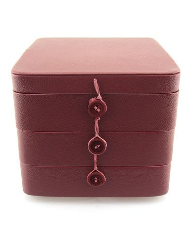 Love this Red Jewelry Stax Box on #zulily! #zulilyfinds