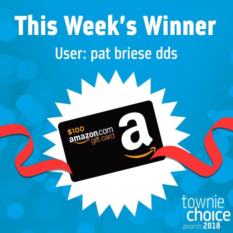 Congrats pat you are the winner of the 100 amazon gift