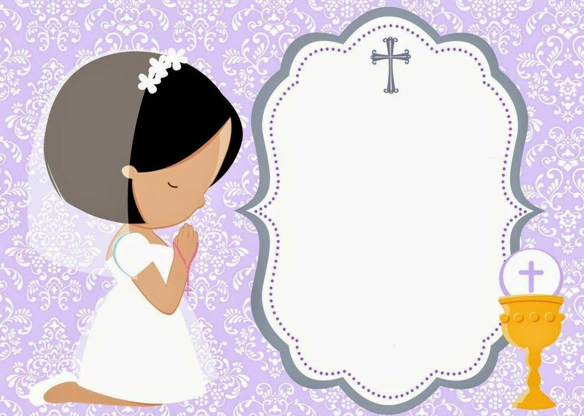 Pin By Norma Garcia Gil On Invitaciones De Primera Comunion