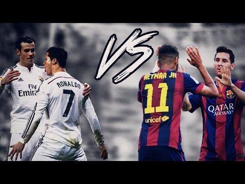 Cristiano Ronaldo & Gareth Bale vs Lionel Messi & Neymar ...  Neymar