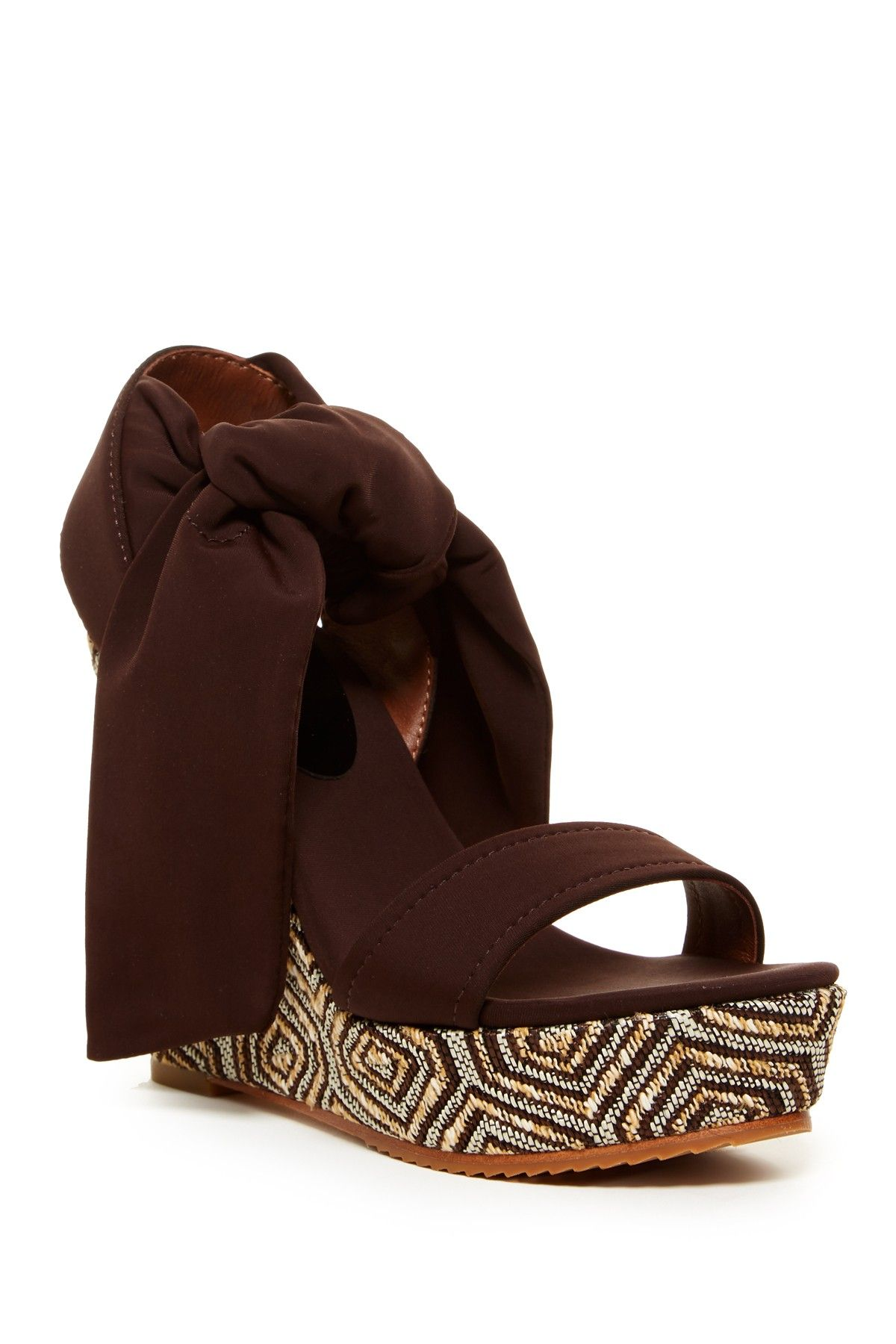 Nela Wedge Sandal by Donald J Pliner on @nordstrom_rack