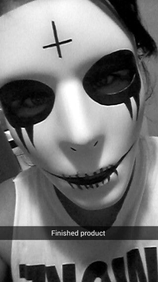 Purge Anarchy Face Paint