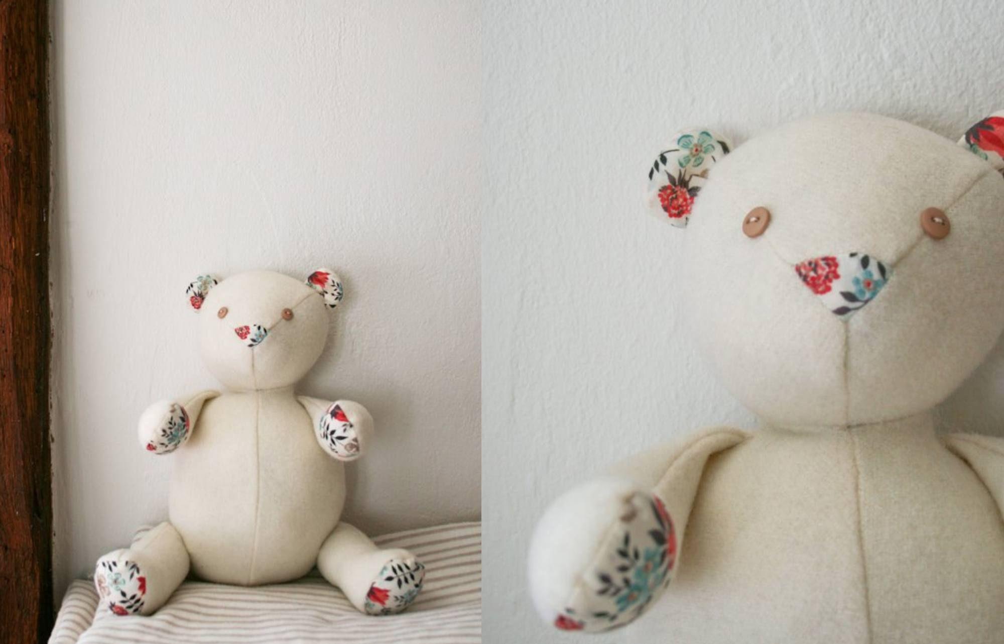 Teddy Bear Sewing Pattern 10 Adorable Teddy Bear Sewing Patterns #babyteddybear