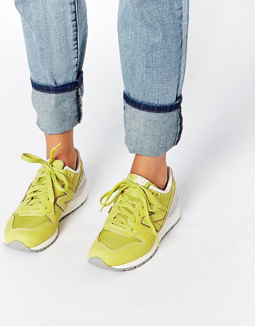 new balance 996 vert citron