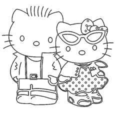 Trend Hello Kitty Coloring Pages