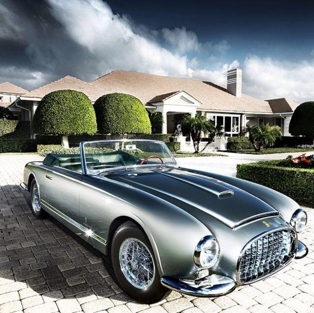 1951 Ferrari 342 America. Der 342 America wurde für eine relativ kurze Pe ... - 1951 Ferrari 342 A