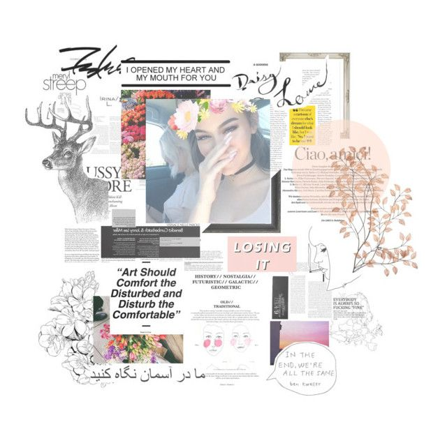 """""""6:35PM   ⠀""""WINTERBREAK."""""""" by colouringbook ❤ liked on Polyvore featuring art"""