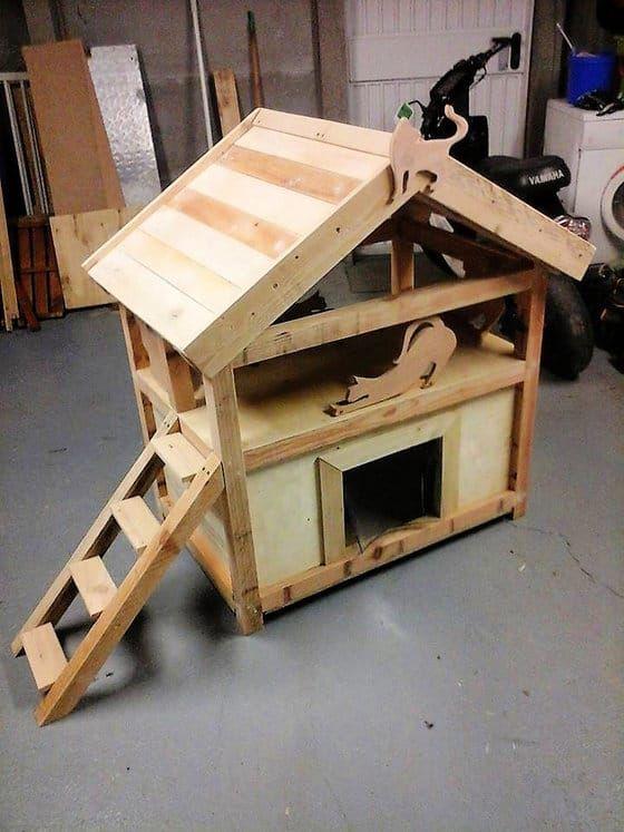 20 Free DIY Cat House Plans
