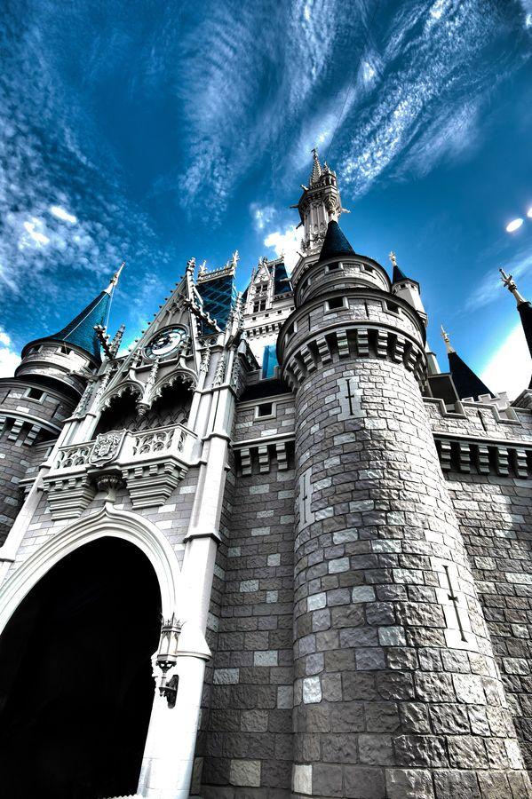 """Castle in the Sky"" by Melissa Loflin, via 500px."
