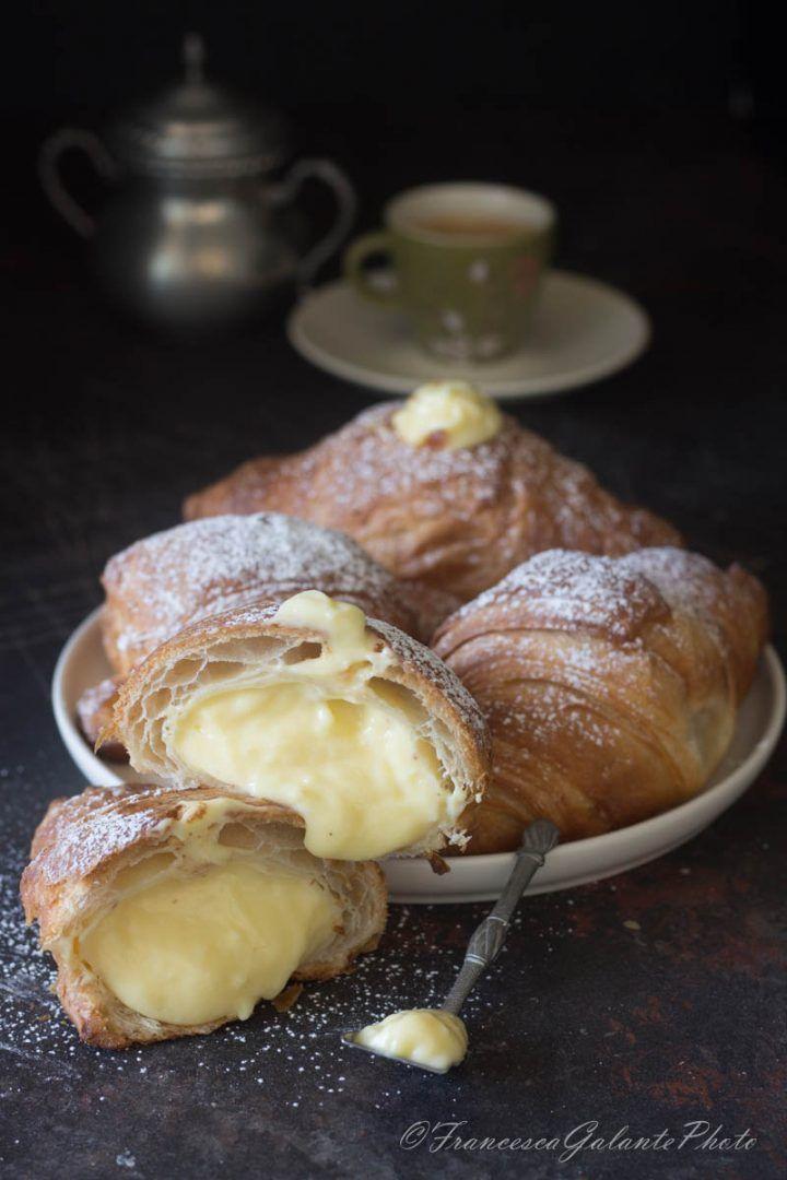 Croissant sfogliati ripieni di crema pasticcera ricetta for Cucinare jalapenos