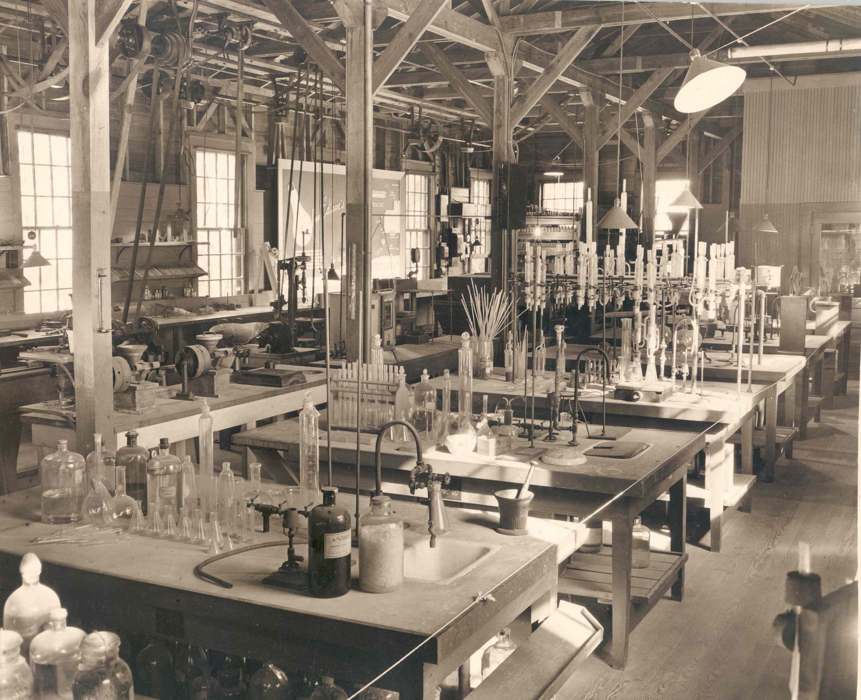 Incredible Pictures of Early Science Labs steampunk