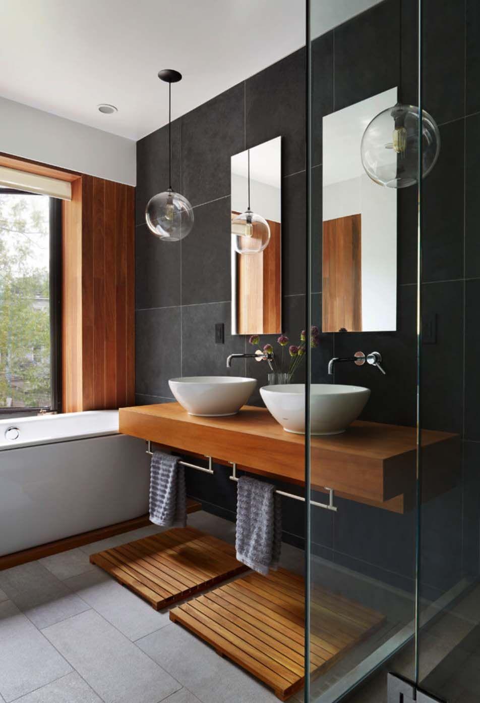 Sleek New York City Townhouse Exhibits Eye Catching Details Contemporary Bathroom Designs Modern Bathroom Bathroom Design