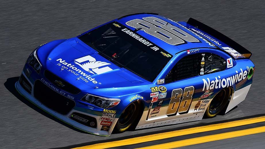 Dale Earnhardt Jr says his car is the fastest so far - http://www.pitstoppost.com/dale-earnhardt-jr-says-his-car-is-the-fastest-so-far/