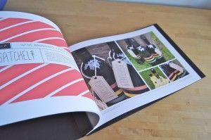 graphic design portfolio book handmade by hinged strung stitched in portland ore - Graphic Design Portfolio Ideas