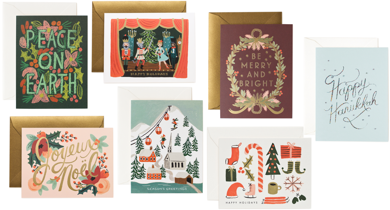 Rifle Paper Co Greeting Cards Greetings Wrap Pinterest Head