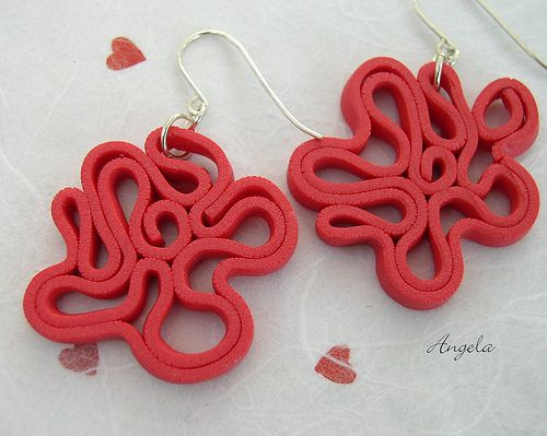 Labyrinth Earrings 636 | Flickr - Photo Sharing!