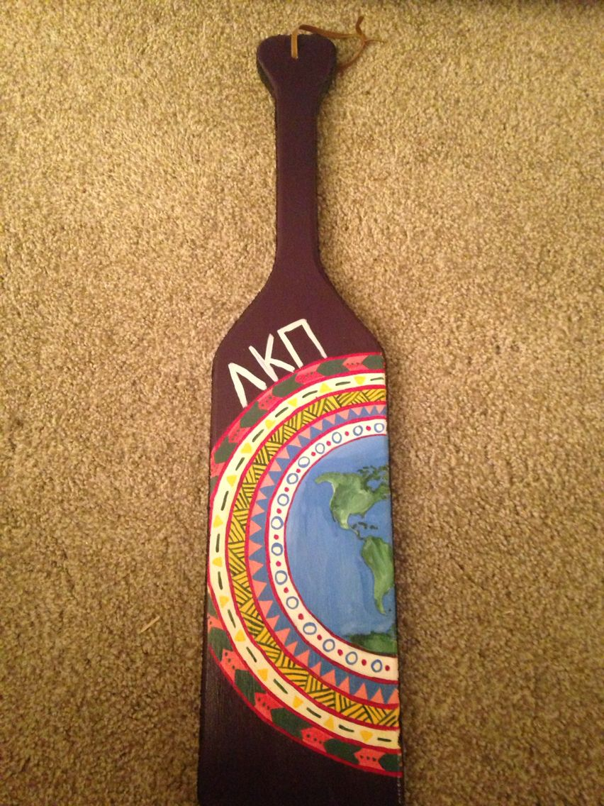 Earth Sorority paddle | Me gusta | Pinterest | Sorority, Kappa and ...