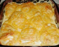 Chicken Crescent Roll Casserole / they say this is the most requested recipe!!