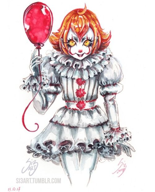 2017 pennywise art Another Pennywise _IT 2017_ by
