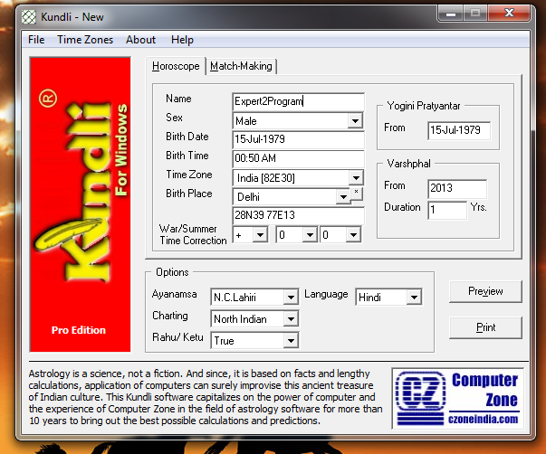 kundli software free download in hindi for window 10