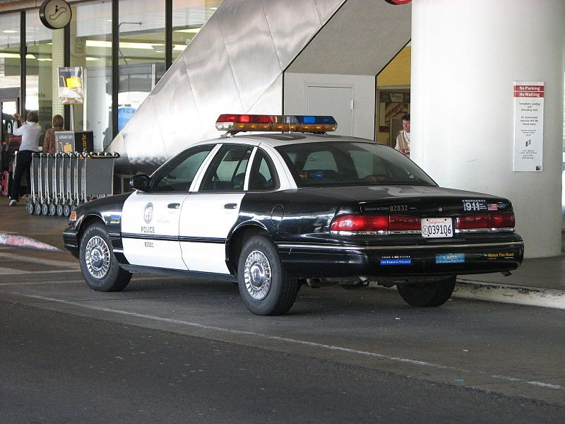 Lapd Ford Crown Victoria Outside Lax Flickr Highway Patrol Images Ford Crown Victoria Police Interceptor Victoria Police Ford Police Police Car Pictures