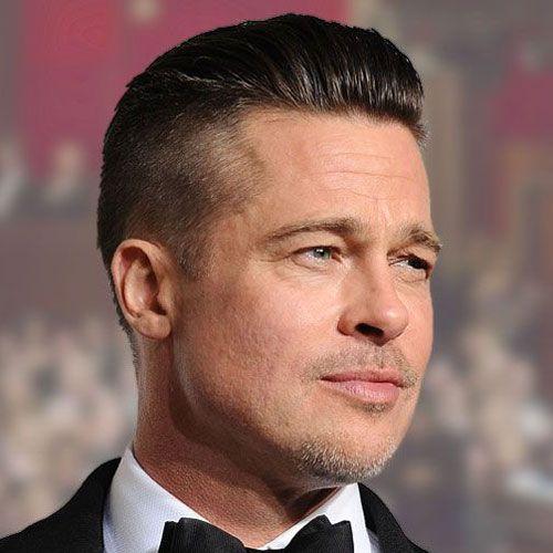Brad Pitt Frisuren Manner Frisuren Brad Pitt Und Frisuren