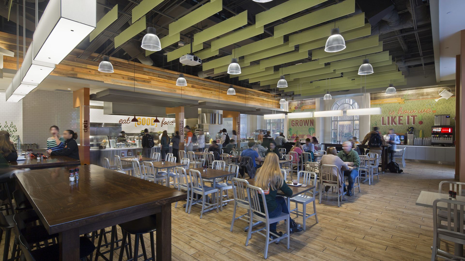 Farmers market dining commons collins cooper carusi