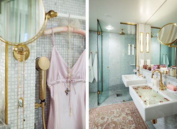 polished brass faucets bath by eva lindh | bathroom | Pinterest ...