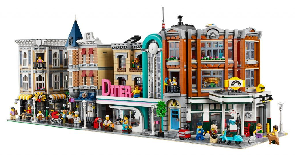 BRAND NEW  SEALED LEGO 10260 EXPERT CREATOR MODULAR BUILDING DOWNTOWN DINER