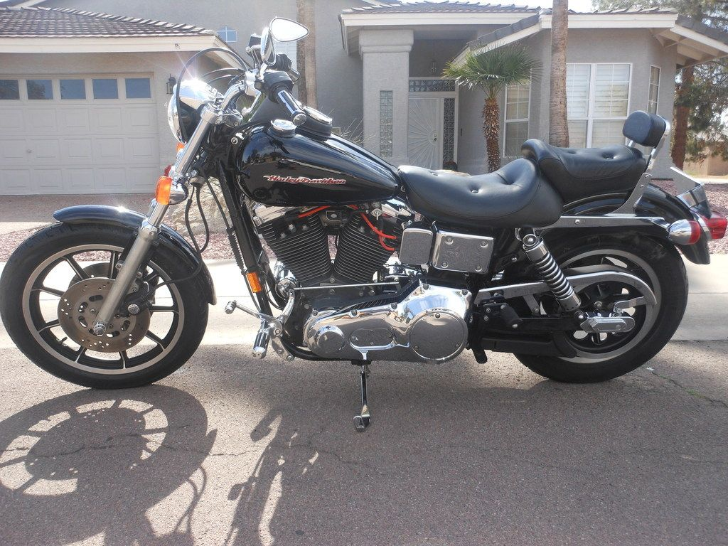 1995 harley davidson dyna fxdl convertible with 29k