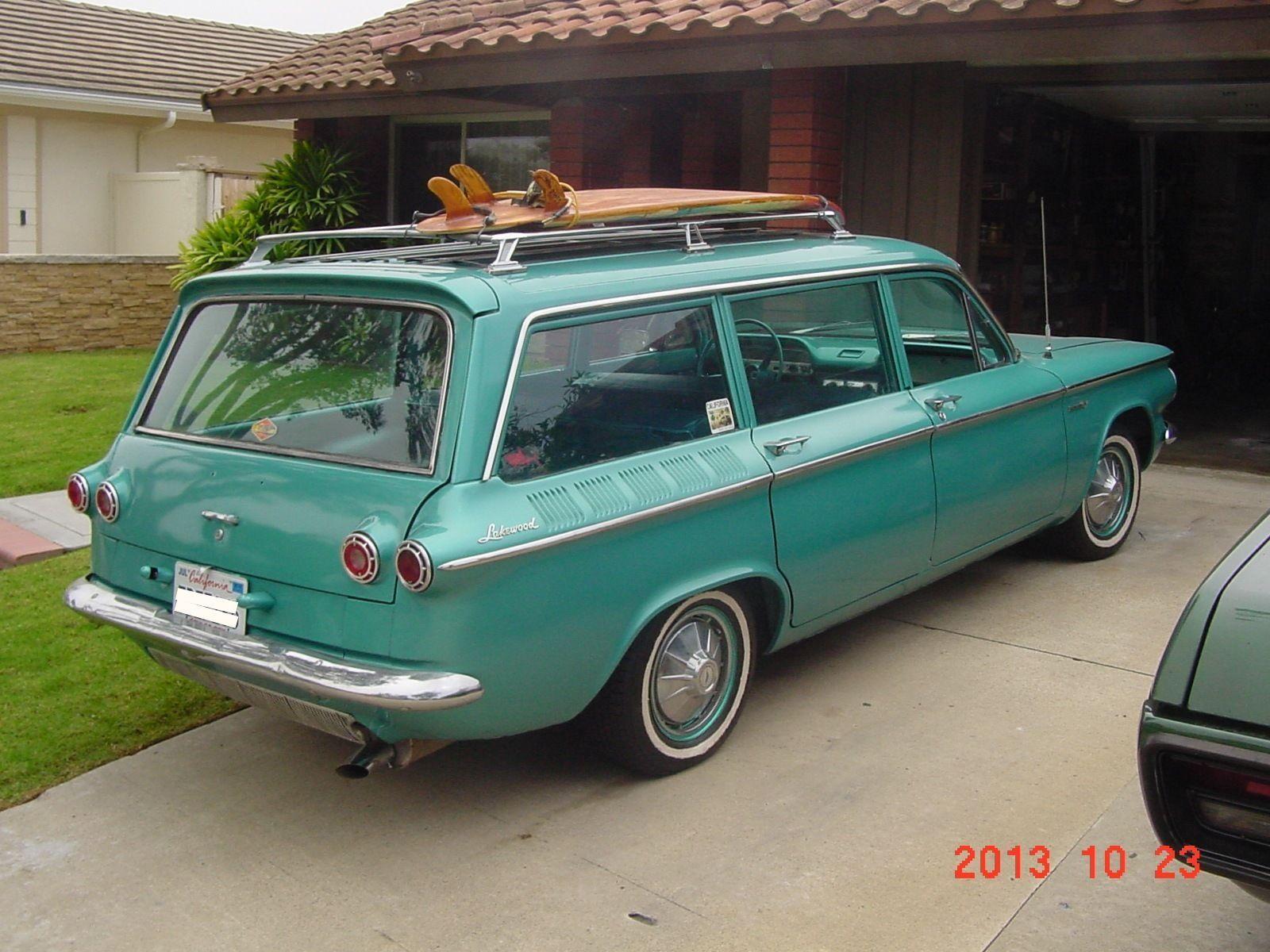 Chevrolet Corvair Lakewood Wagon Adrenaline Capsules
