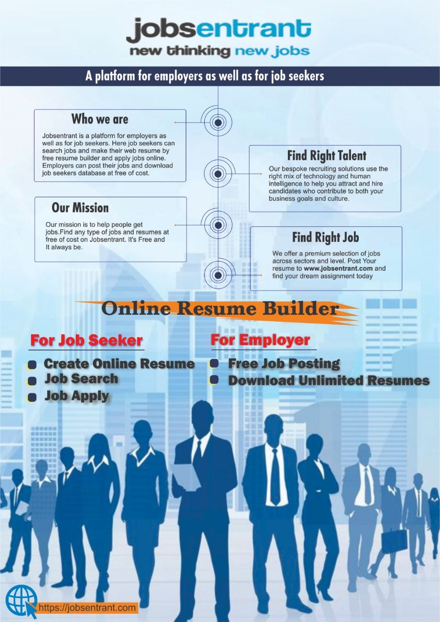 free resume search websites in india