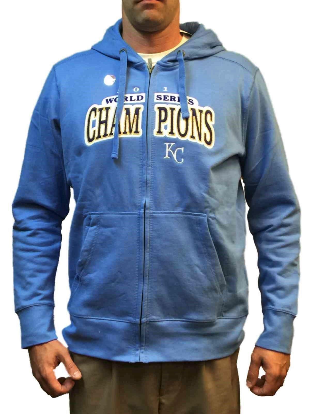Kansas City Royals Antigua 2015 World Series Champions Hoodie Jacket  Sweatshirt