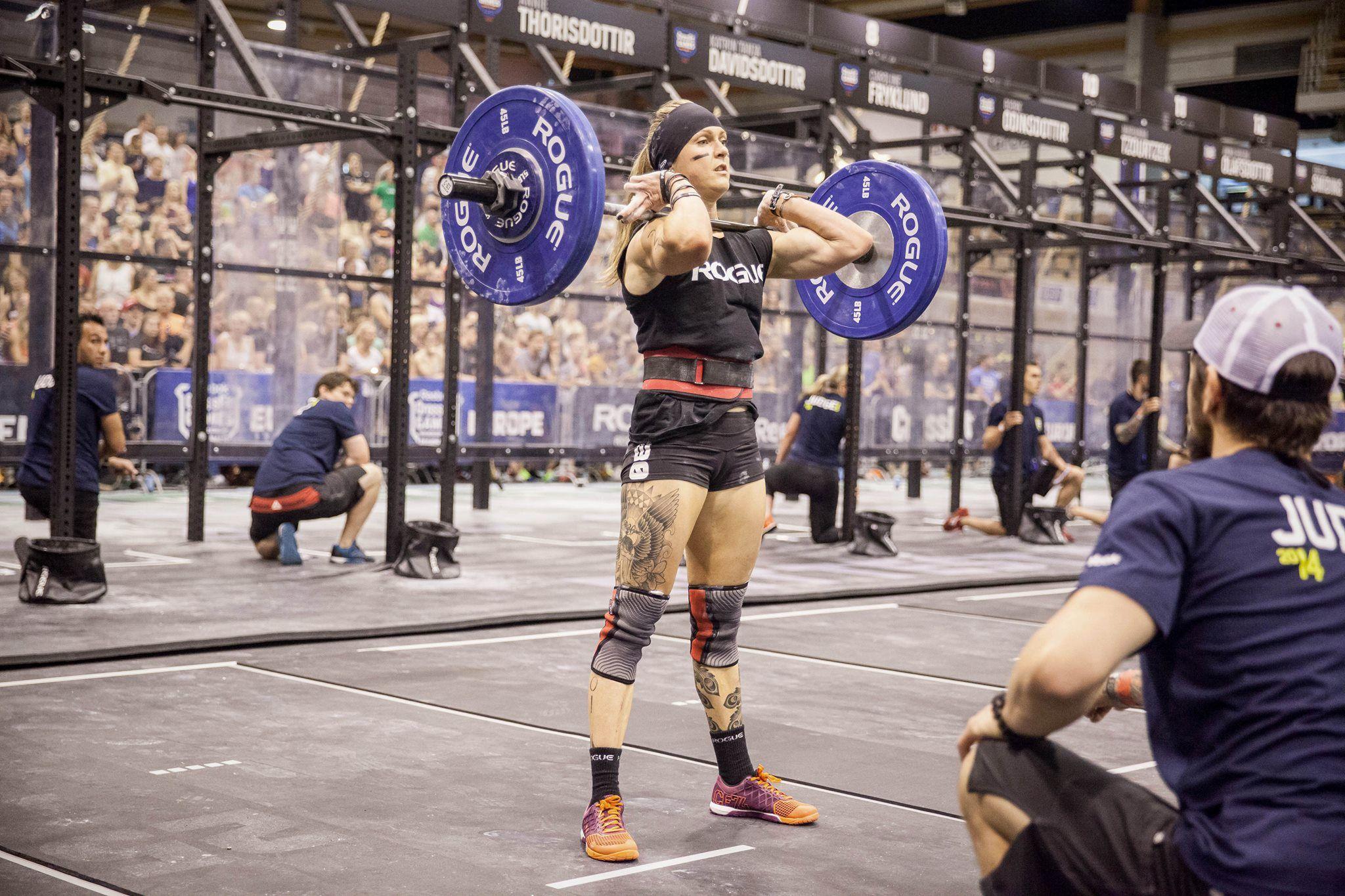 Samantha Briggs European Regional 2014 . CrossFit