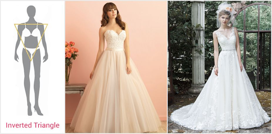 The Best Wedding Dress for Your Body Type | Wedding Stuff ...