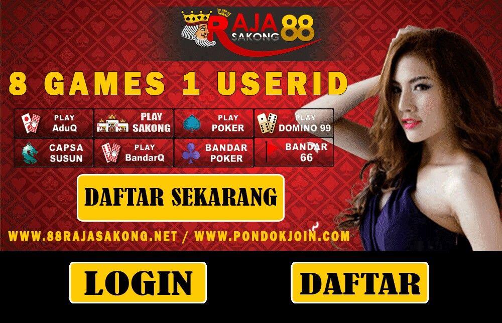 Pin Di Link Alternatif Resmi Poker Domino Qq Online