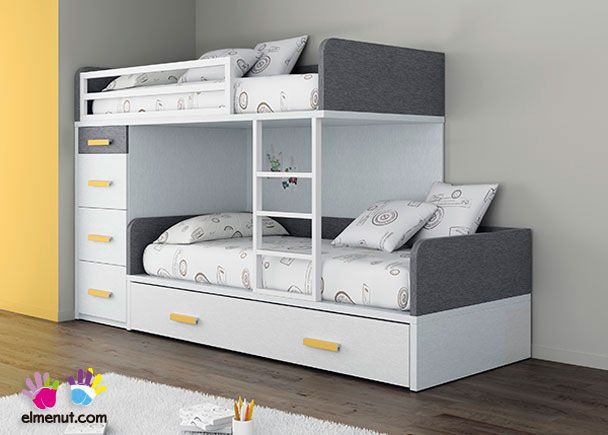 Dormitorio Infantil con Camas tipo Tren | Novedades de mueble ...