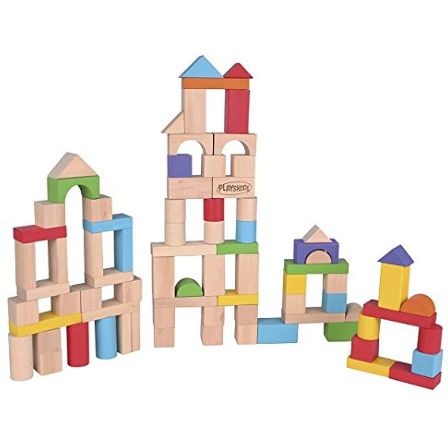 Playskool Cn Blocks 80 Piece Click Image For More Details