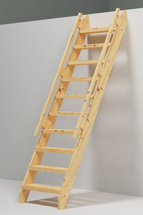Se de ulike trapp og stige mulighetene til din hytte Garage loft stairs